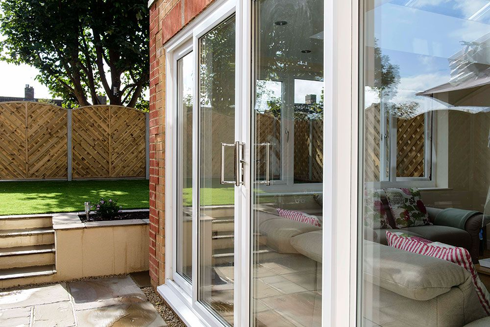 white knight upvc patio doors house design pinterest patio