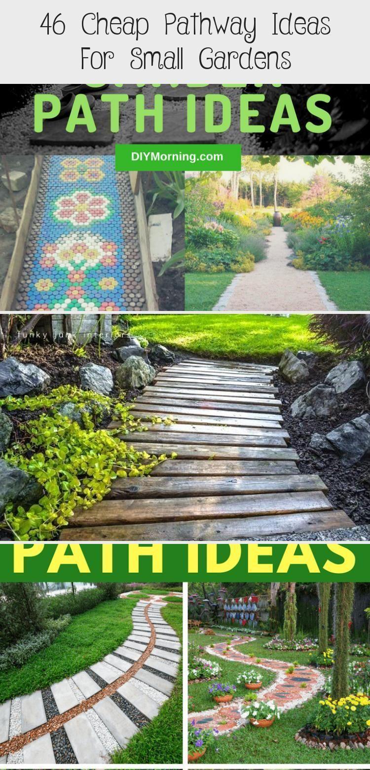 Photo of 46+ Easy & Cheap Garden Path Ideas For Your Beautiful Garden #Alpinerockgarden #…