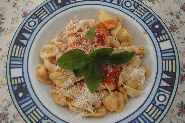leckere Pasta - typisch italienische Küche - alles mit frischen - italienische küche rezepte