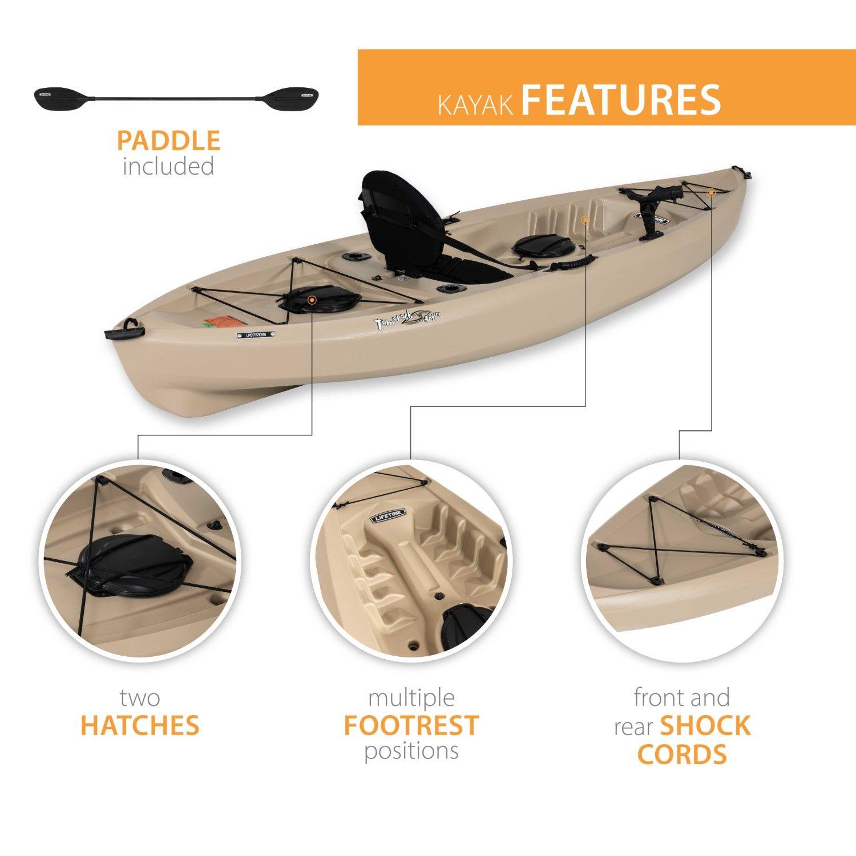 Lifetime Tamarack Angler 10 ft Fishing Kayak (Paddle