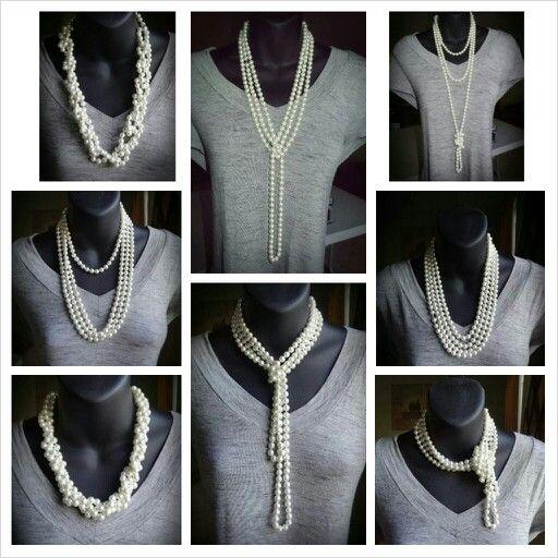 8 Ways To Wear Long Pearl Necklace Ways To Wear Jewelry