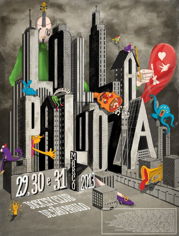 Lollapalooza SP - por Por Svichr