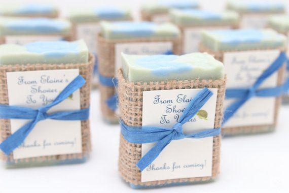 50 Bridal Shower Soap Favors Handcrafted Custom Favours