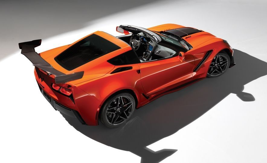 The 2019 Corvette With 750hp It The Fastest And The Most Track