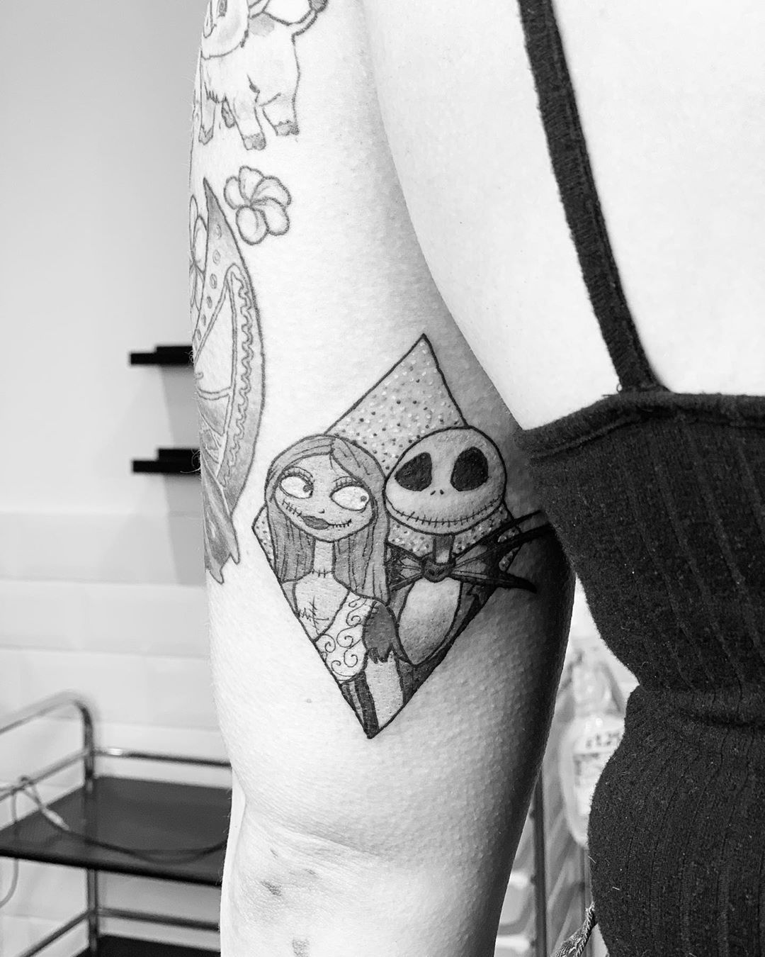 UPDATED 40 Nightmare Before Christmas Tattoos (May 2020
