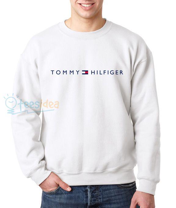 7fe32d5b1df7b Tommy Hilfiger Logo Unisex Adult Sweatshirts - Get 10% Off!!! - Use Coupon  Code  TEES10