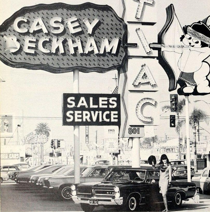 1965 Casey Beckham Pontiac Dealership, Anaheim, California