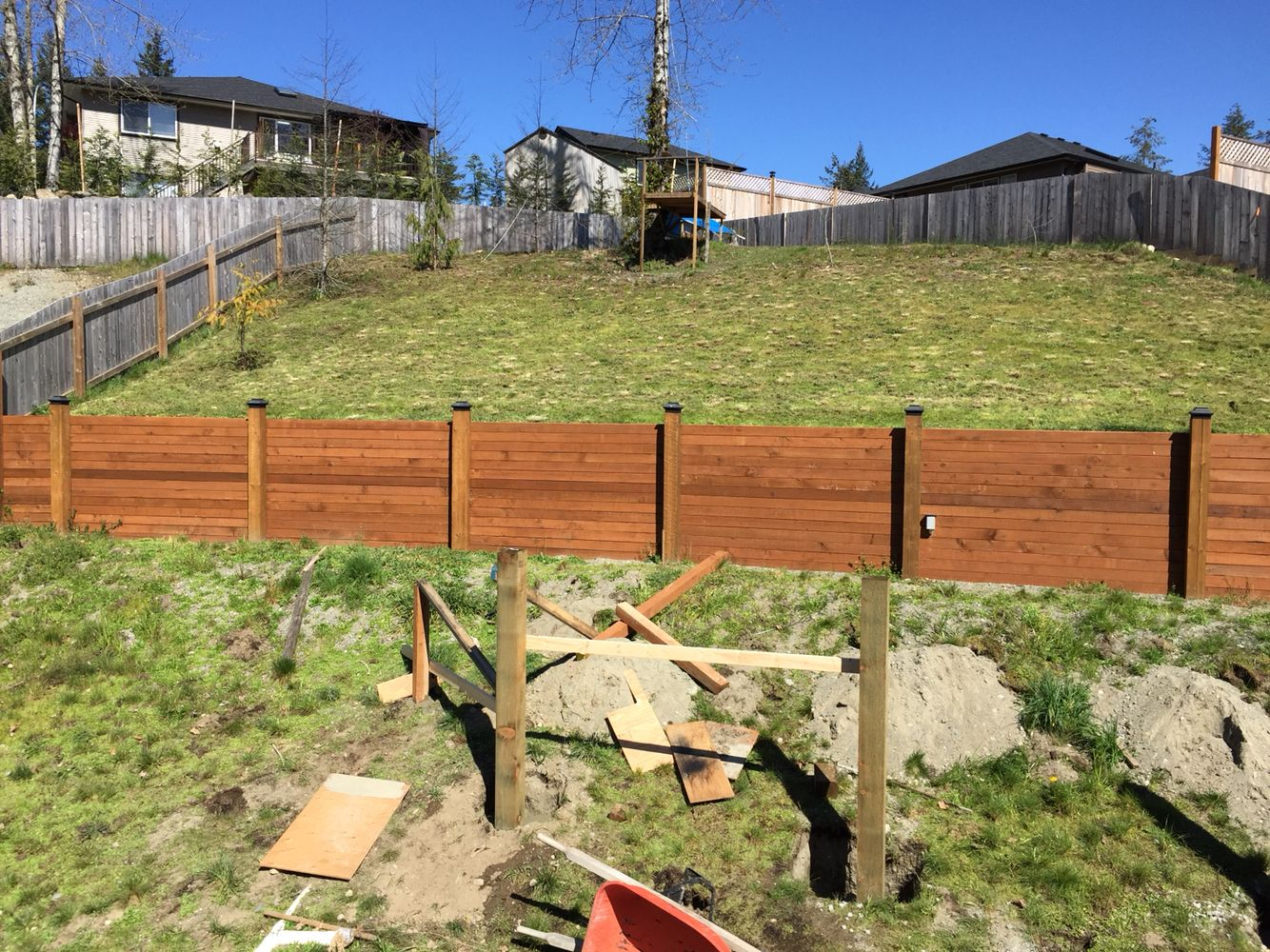 Best 6X6 Uprights With 4X4 Horizontals Retaining Wall Wall 400 x 300