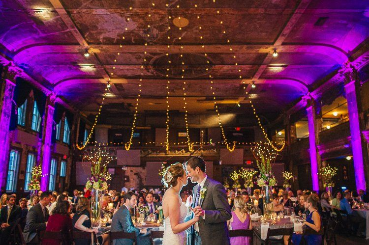 Awesome Milwaukee wedding at Turner Hall Photo by Andy Stenz
