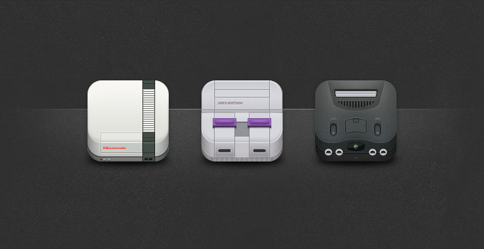 Nintendo Icons By Toddham Deviantart Com
