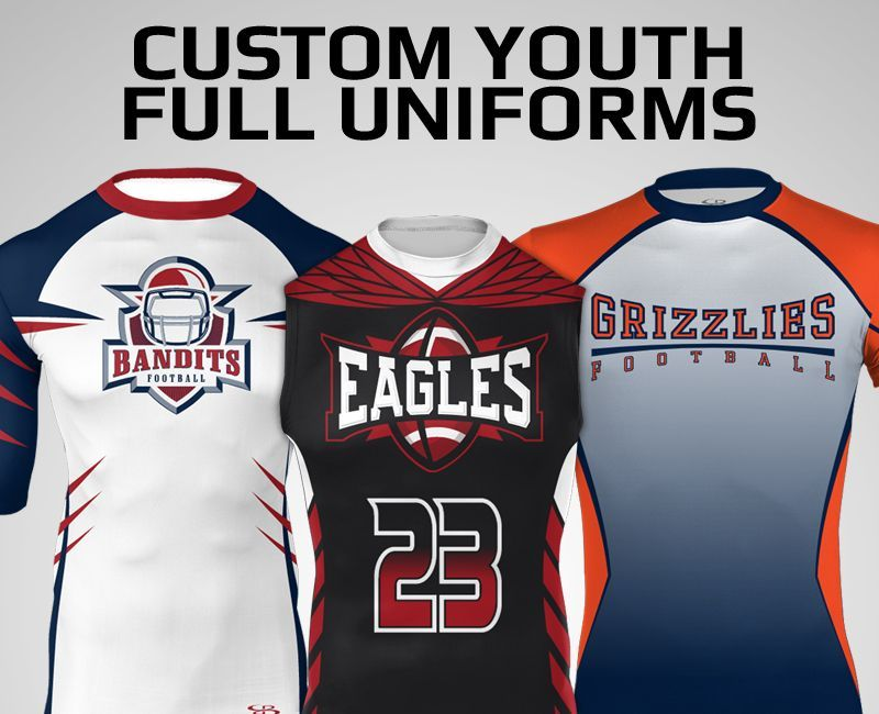 All Boombah Custom Youth 7 on 7 Football Uniforms | Football