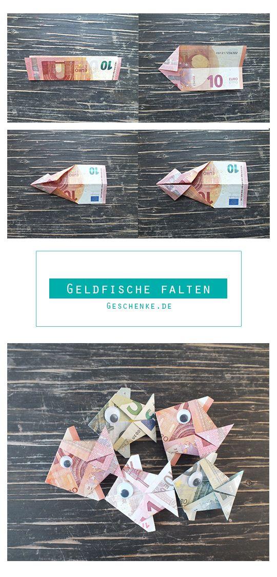 Photo of Fisch falten aus Geldschein – einfache Anleitung