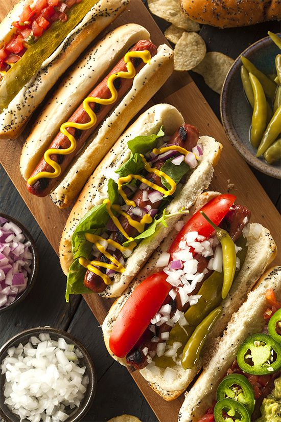 Best of the Barbecue 10 Ways to Eat a Hot Dog hot dogs