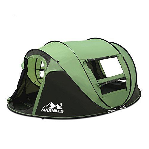 MaxMiles Pop up Tent Premium Outdoor Popup Family C&ing Tent Instant Tents For C&ing Beach Woods  sc 1 st  Pinterest & MaxMiles Pop up Tent Premium Outdoor Popup Family Camping Tent ...
