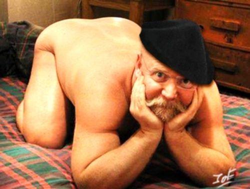 Grandpa Nude Pose 44