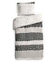 Luhta Home Vihko-pussilakanasetti, keltainen | Hyvän unen avaimet: sängyt, peitteet, tyynyt, pussi- ja aluslakanat jne. | Hobby Hall