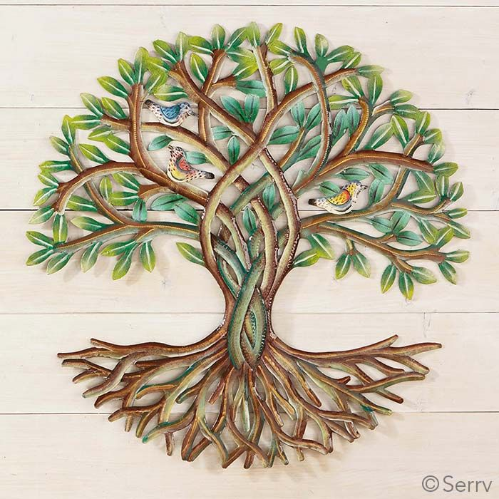 Green Gifts Rooted Spring Tree Wall Serrv Wall Art