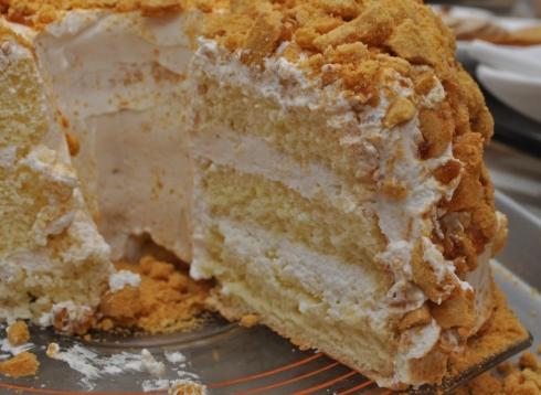 Blums coffee crunch cake recipe