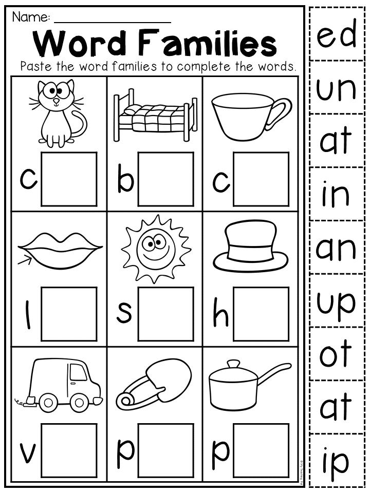 Kindergarten Cvc Worksheet Packet Distance Learning English Worksheets For Kindergarten Kindergarten Summer Worksheets Phonics Kindergarten