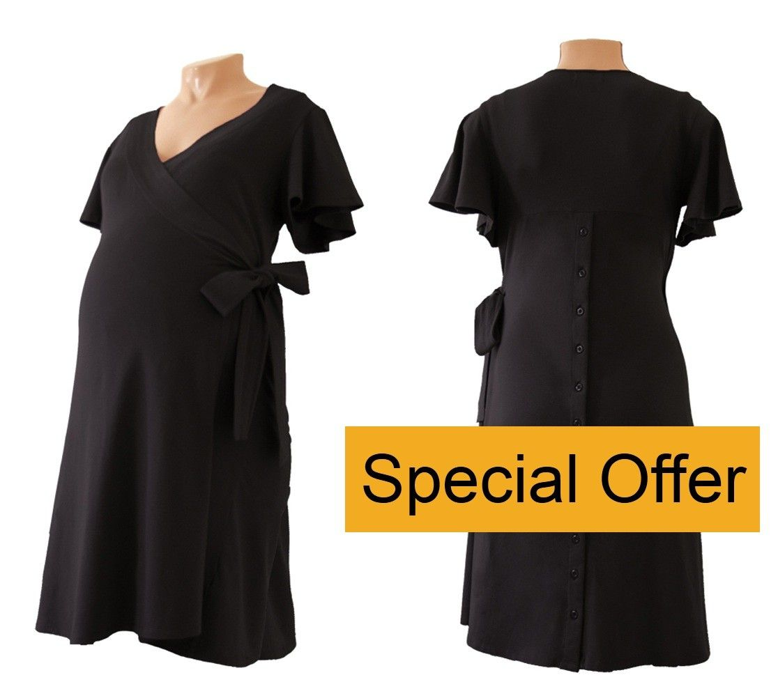 Tayla Birthing Dress - Maternity, Labour and Nursing - Special offer only £33.99