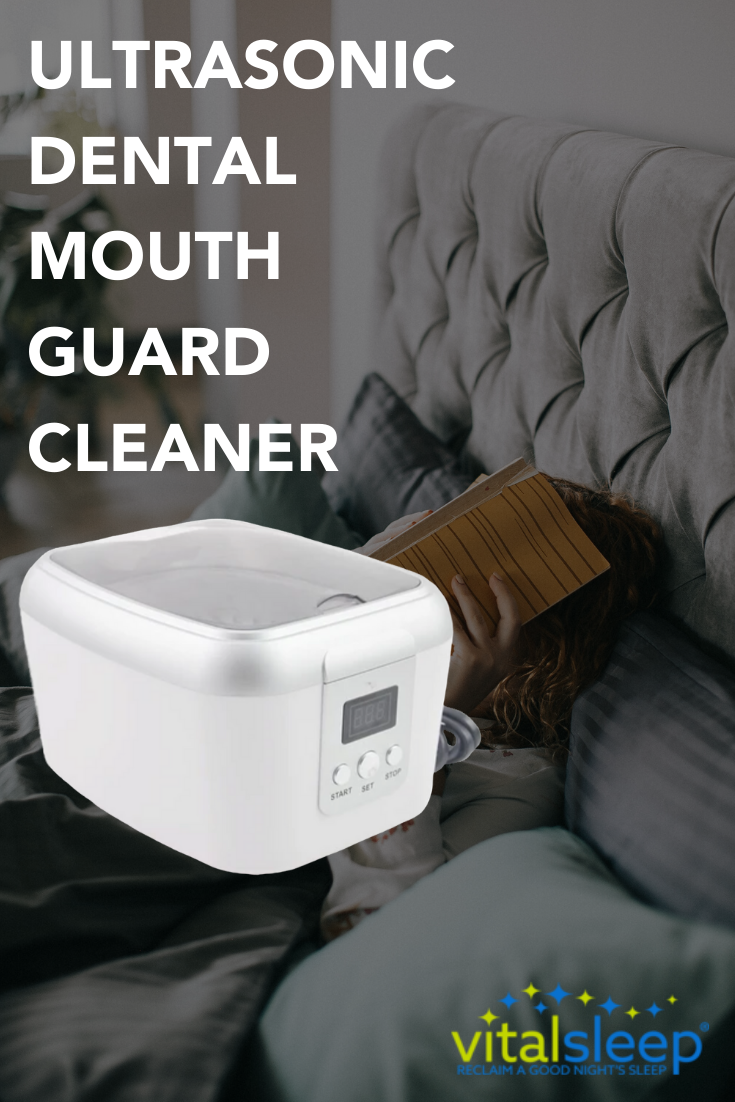 Ultrasonic Dental Mouth Guard Cleaner Mouth Guard Dental Snoring Solutions