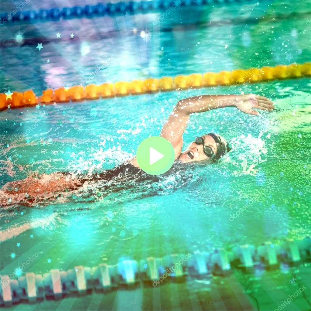 crawl swimmer Royalty Free Stock Images Front crawl swimmer Royalty Free Stock Images  I just recently switched to natural deodorants but had this super awful uncomfortab...