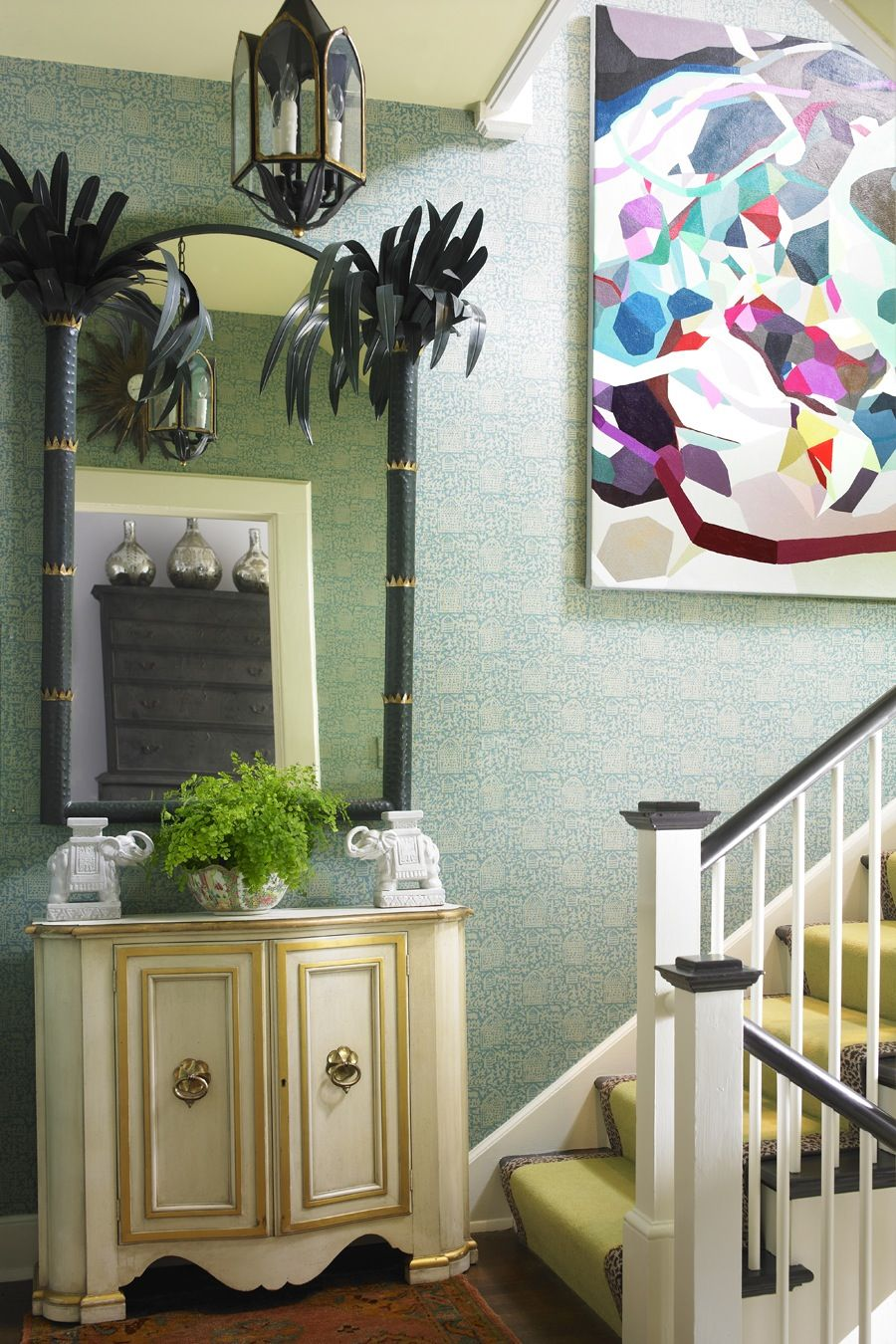 Kelly Crago Hansen Interiors, Painting By Erin McIntosh ...so Cool To See