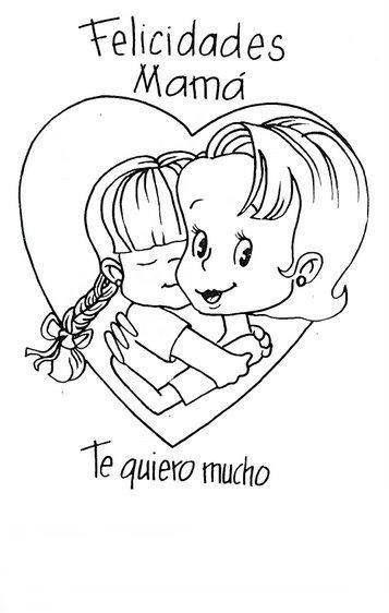 Pin De Carolina Lopez En Dibujos Dibujos Del Dia De Las Madres