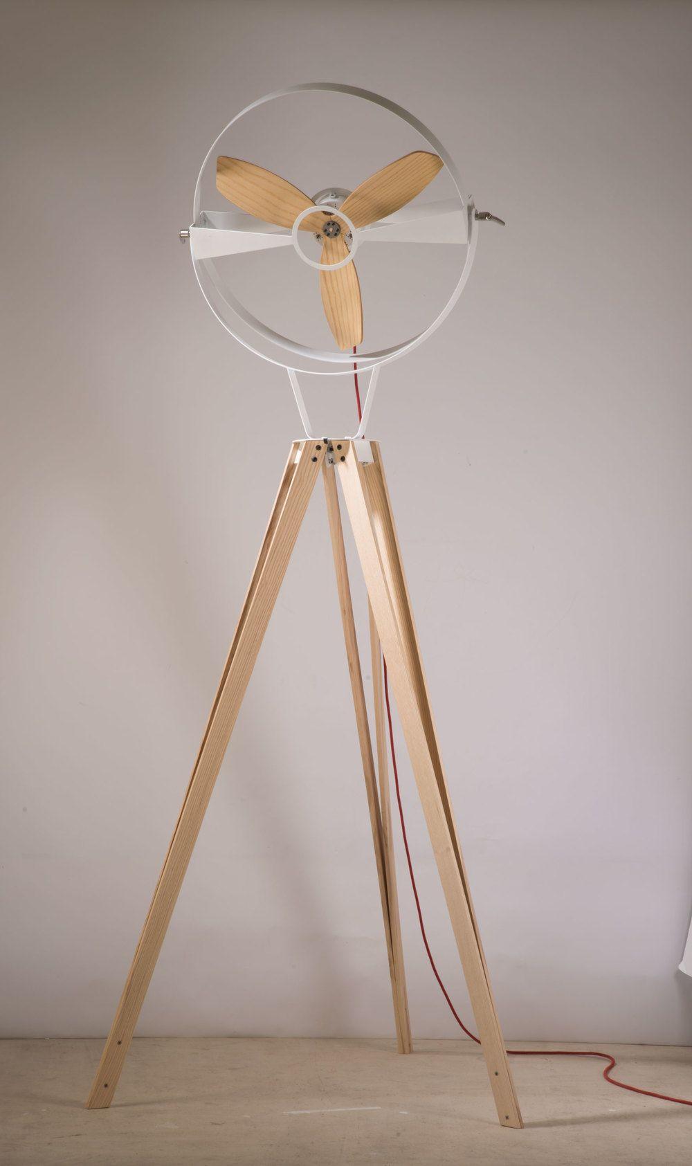 Floor Standing Fan By Gallegos Design