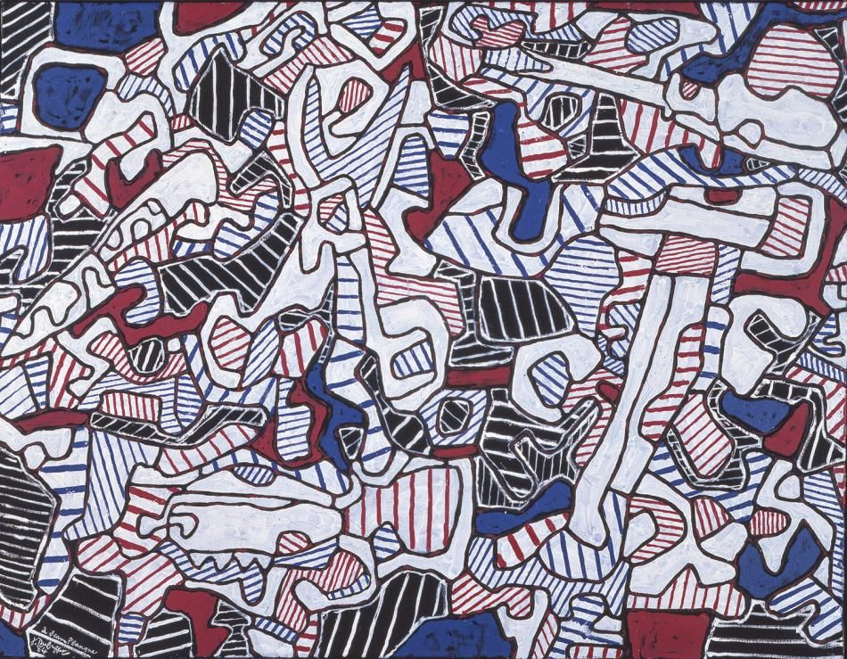j dubuffet soci t d 39 outillage 1964 oil on canvas 89 x 116 cm s u art pinterest jean. Black Bedroom Furniture Sets. Home Design Ideas