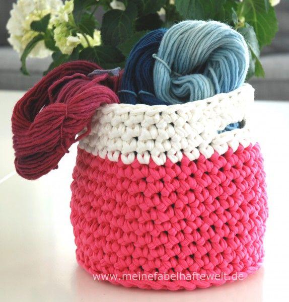 Korb Häkeln Ein Nachmittagsprojekt Home Sweet Home Crochet