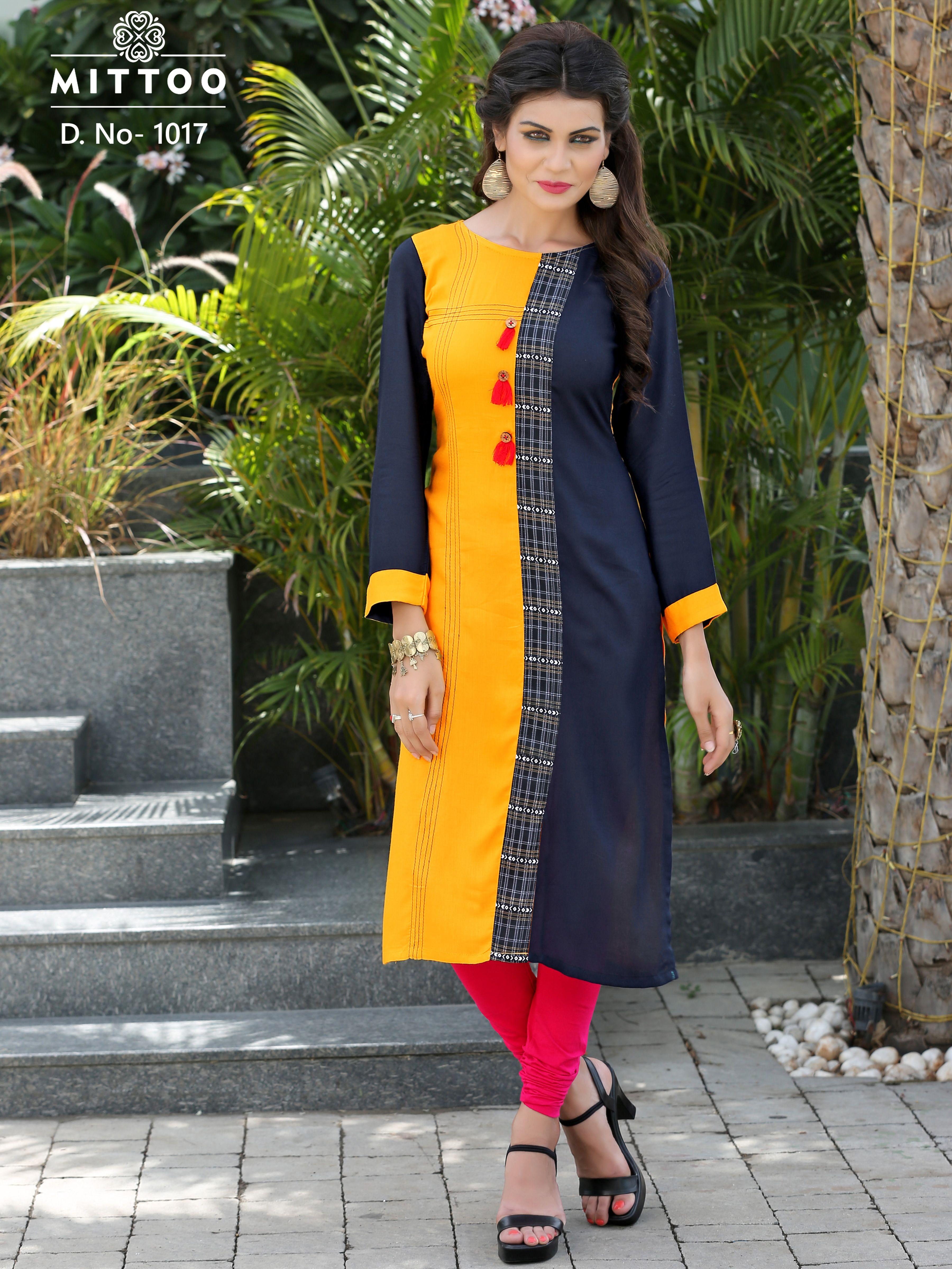 70f9b95090 Simple Kurtis, Ethnic Kurti, Rayon Kurtis, Designer Kurtis Online, College  Fashion,