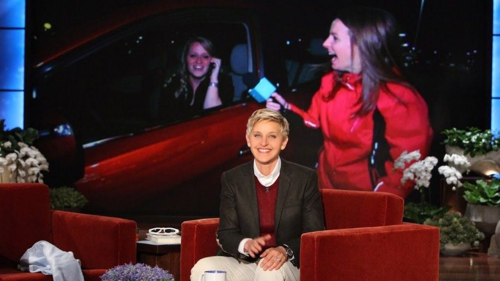 Ellen's Favorite Waitress Gets a Car Get It Wright Here