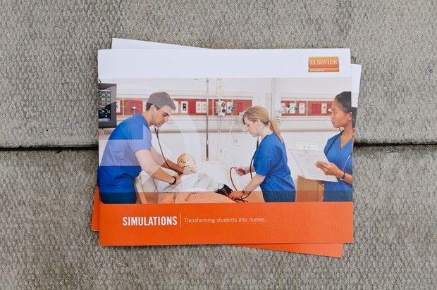 Elsevier Advantage Marketing Brochure / Nursing and Health