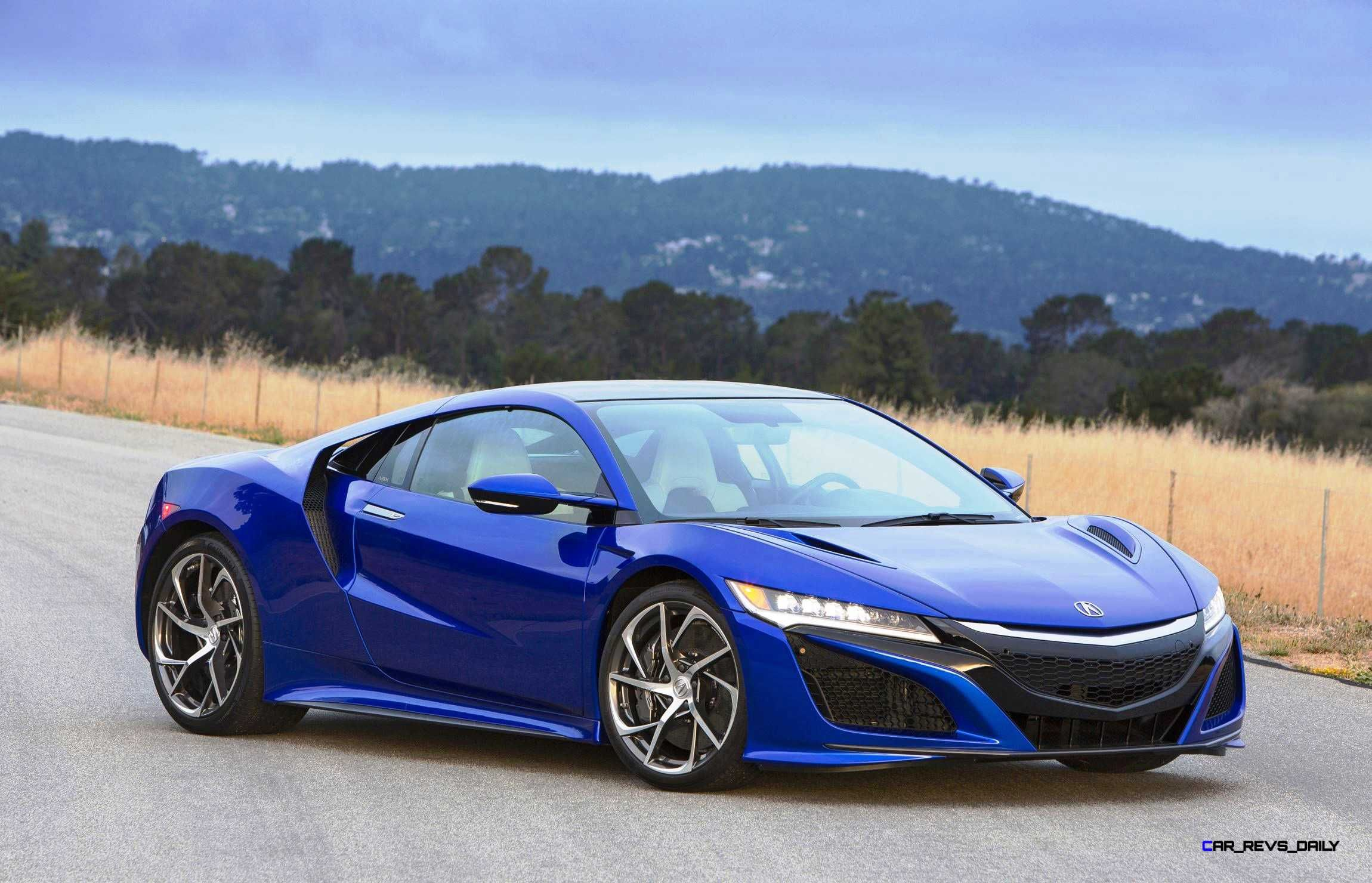 New Acura NSX in Nouvelle Blue Acura nsx, Nsx, 2017