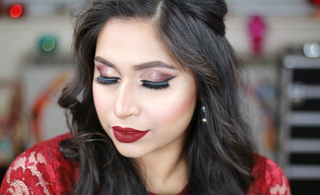Wedding Makeup Tutorial 2016. Today I'll show you how to create this bold Wedding Guest Party Makeup Tutorial. This party makeup look is perfect for Indian, ...