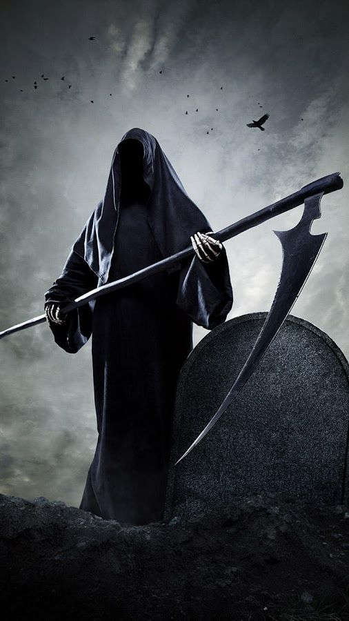 grim reaper wallpaper for android