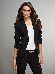 NY - Classic Black Blazer | Work Clothes | Pinterest | Black ...