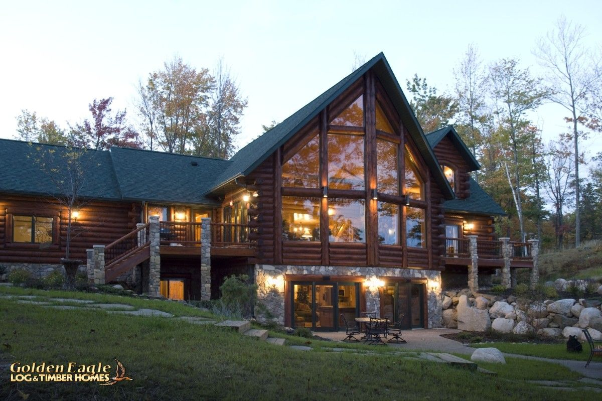 Golden Eagle Log Home Floor Plans