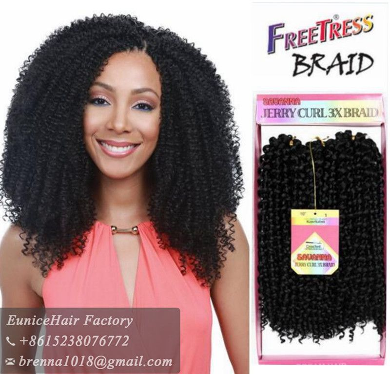 Find More Bulk Hair Information about 3pcs/Pack Freetress ...