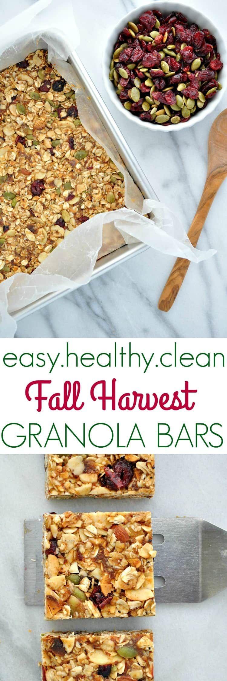 Recipe Healthy Granola Bars