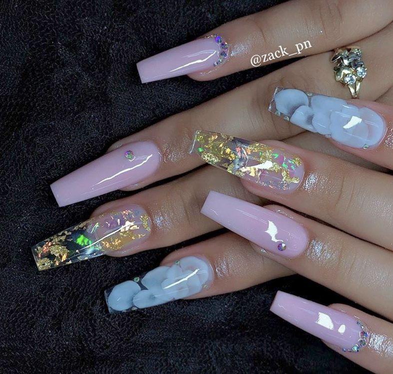 Truubeautys Wedding Acrylic Nails Stylish Nails Art Nails