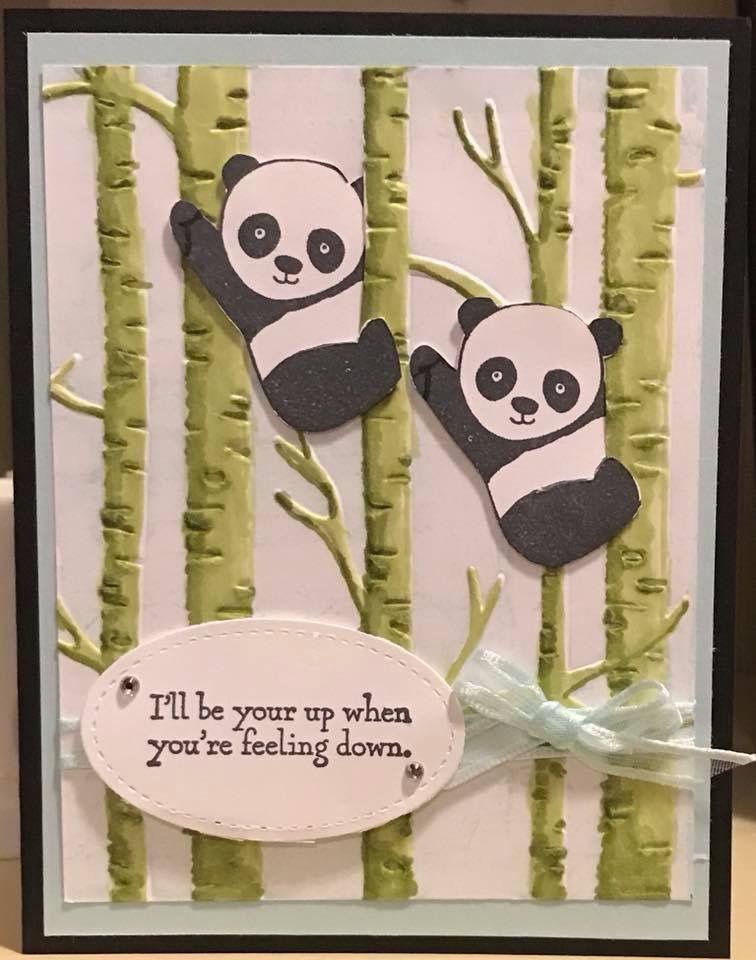 stampin up party pandas karten pinterest karten stampin und basteln mit papier karten. Black Bedroom Furniture Sets. Home Design Ideas