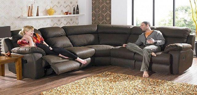 Curved Corner Sofa For Living Room