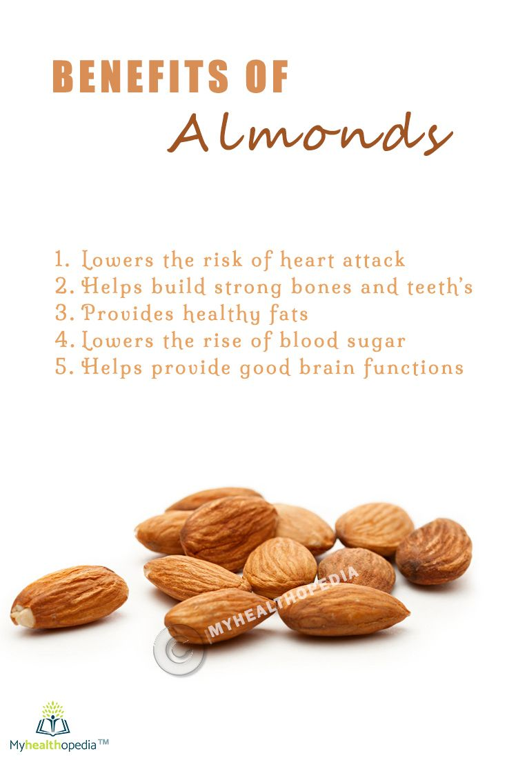 A serving of almonds has 162 calories, 14 grams of heart-healthy  unsaturated fat