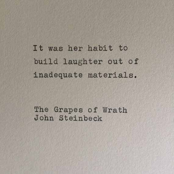 John Steinbeck Quotes Best The Grapes Of Wrath John Steinbeck Literary Quotes Pinterest