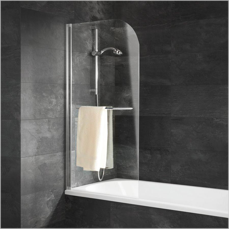 Schulte Schulte Alexa Style Badewannenaufsatz 1 Tlg Mit Handtuchhalter Badewannenaufsatz Glas Wanne