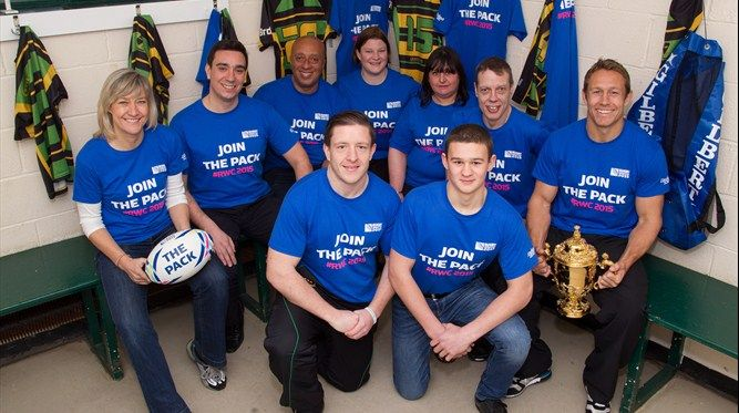 #RWC 2015 volunteer programme launches