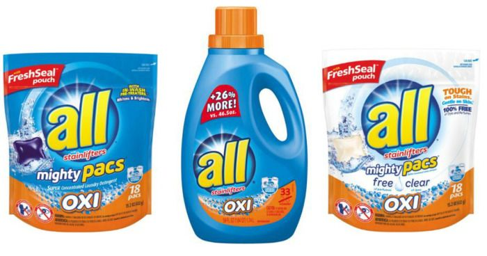 Walgreens Cvs All Laundry Detergent As Low As Only 1 99