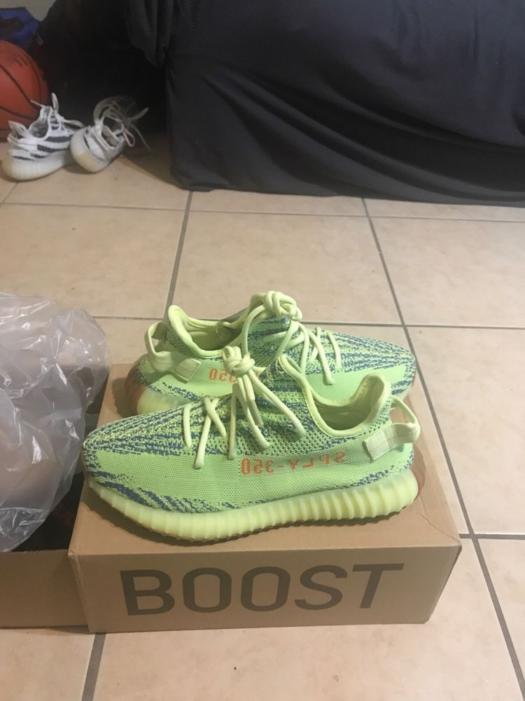 Yeezy Boost 350 V2 Lime green